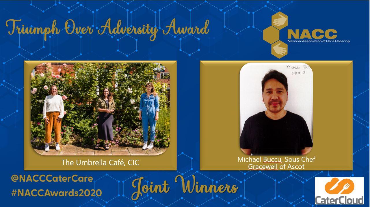 NACC Awards 2020 – Triumph Over Adversity Winners