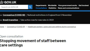 Staff movement
