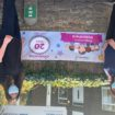 Staff celebrating the 20th anniversary of Petersfield in Portishead (2)
