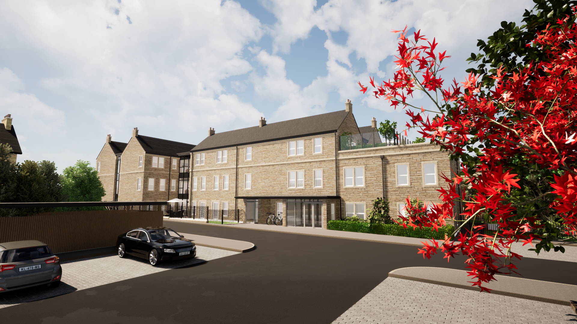 An idea of how the care home in Guiseley will look