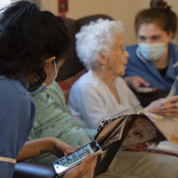 Digital care plans can significantly reduce the chances of older people getting malnourished or dehydrated in social care