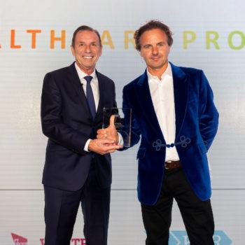 Julian Evans – Knight Frank and Lifetime Achievement Award winner – Phil Burgan