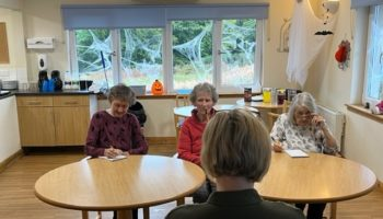 Renaissance Care residents search for more caring individuals to add to the team, as Mary (86), June (87) and Rita (84) lead the search